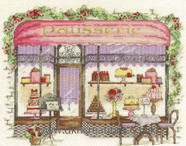 Patisserie Cross Stitch Kit